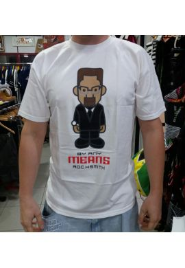 """CAMISETA M/C Rocksmith """"Malcolm X - By any means neccesary"""""""
