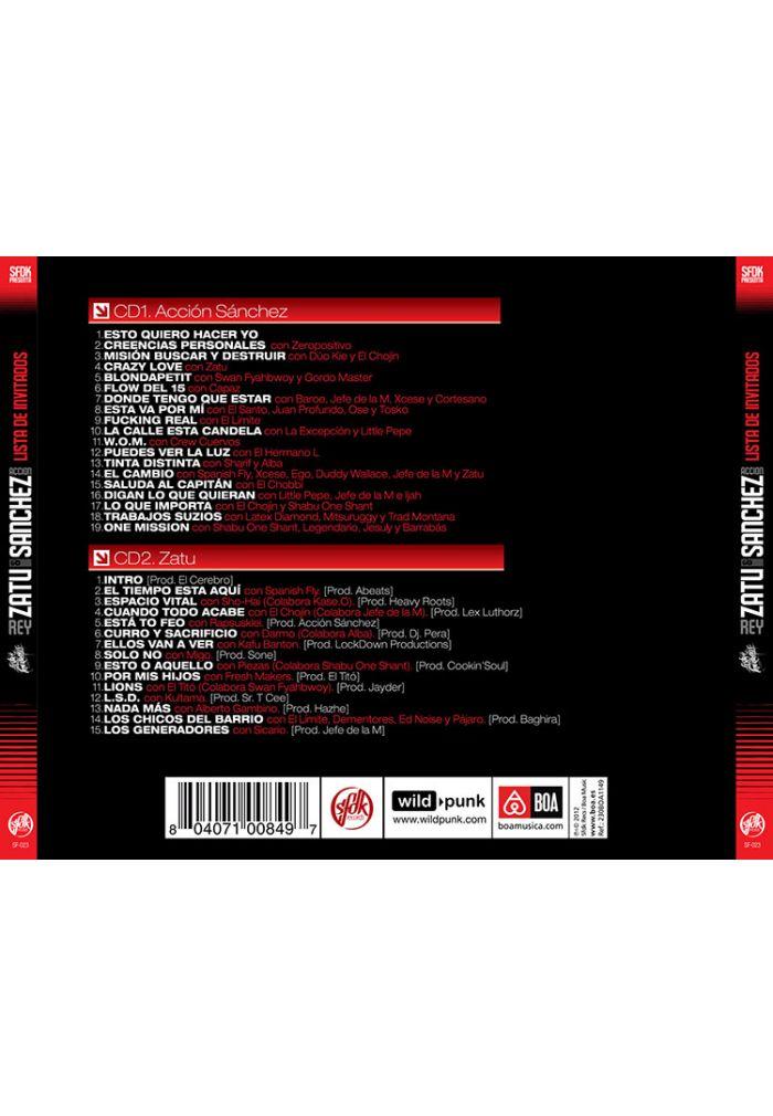 disco lista de invitados sfdk