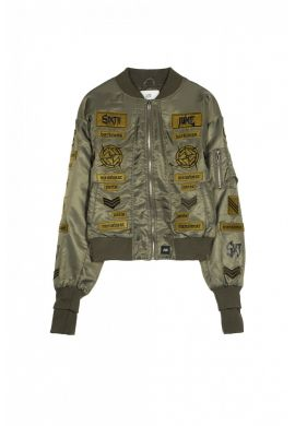 "Chaqueta Bomber SIXTH JUNE ""Gothic Patch"""