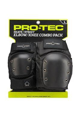 PRO TEC SKATE/STREET COMBO PROTECCIONES
