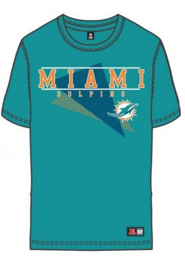 "Camiseta Majestic ""Miami Dolphins"" turquesa"