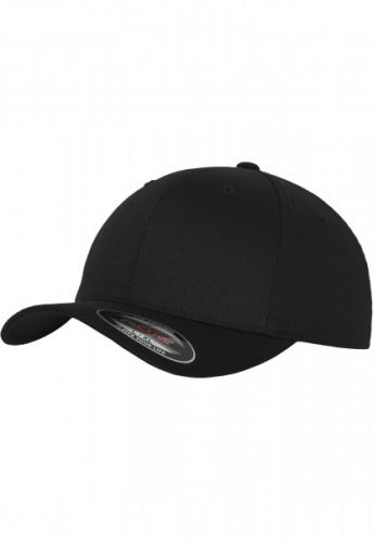 Gorra FLEXFIT 6277 black - 4 Elements Shop 8f43b0c992d