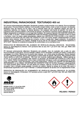 Pintura parachoques texturada MONTANA Industrial