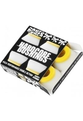BONES BUSHINGS HARDCORE MEDIUM WHITE