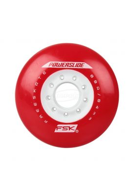 Ruedas Patinaje POWERSLIDE PS Fsk Red 84 mms 88a