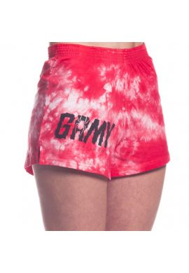 "Shorts Chica Grimey ""Scream Tie Dye"" Red"
