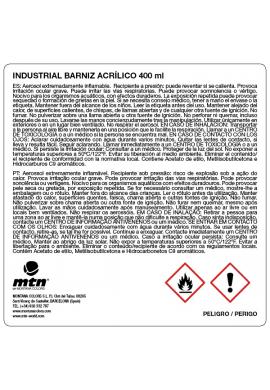 Barniz acrílico MONTANA Industrial