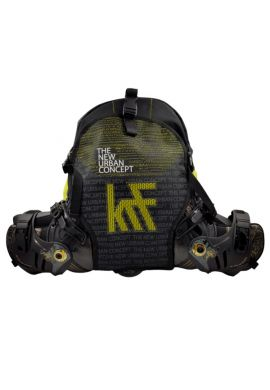 "Mochila Patines KRF ""New York"" yellow"