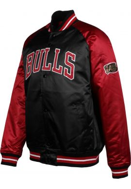 "Beisbolera Mitchell & Ness CHICAGO BULLS ""Tough Season Satin"""