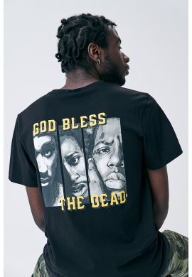 "Camiseta CAYLER & SONS ""C Angels"" black / yellow"