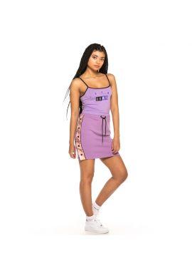 "Camiseta tirantes chica GRIMEY ""F.A.L.A."" purple"