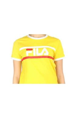 "Camiseta top FILA ""Ashley Cropped"" empire yellow"