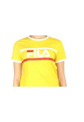 "Camiseta top FILA ""Ashley Cropped"" empire yellow"