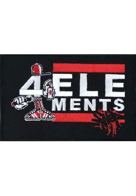"Parche ropa ""4 Elements Shop"""