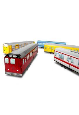 "Miniatura tren MTN ""Tokyo Subway"" Japón"