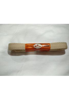 Cordones zapatillas anchos 120 cms (Beige)