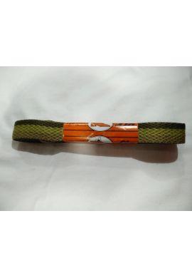 Cordones zapatillas anchos 120 cms (Verde militar triple)