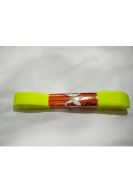 Cordones zapatillas anchos 120 cms (Amarillo fluor)