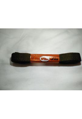 Cordonoes zapatillas anchos 120 cms (Verde militar)