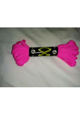 Cordones patines 240 cms (Rosa fluor)