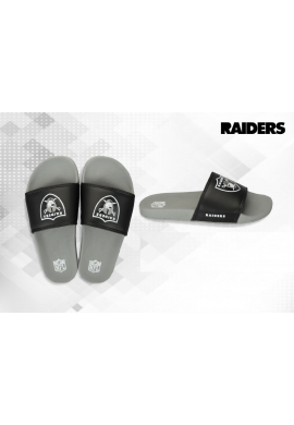 "Chanclas NFL Grand ""Oakland Raiders"" grey - black"