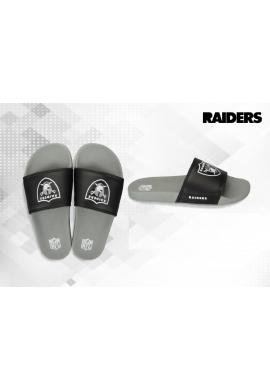 "Chanclas NFL Grand ""Oakland Raiders"" grey - black"