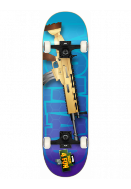 "Tabla completa NOMAD Fortnite ""No skate 4 Fun"" SCAR"