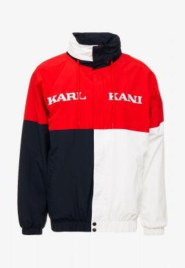 Cortavientos KARL KANI (Red / nlack / white)