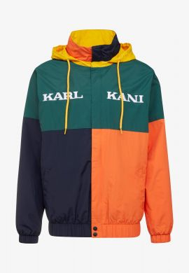 Cortavientos KARL KANI (Green / orange / yellow)