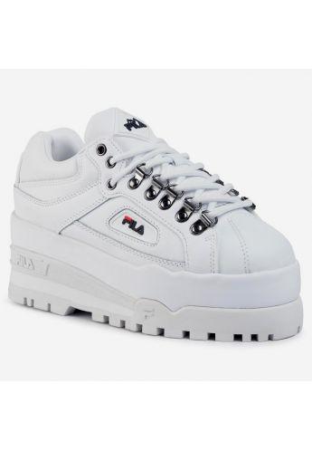 """Zapatillas chica FILA  """"Trailblazer"""" blanco"""