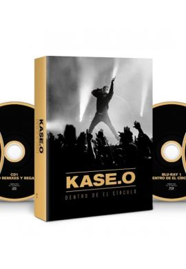 "KASE O ""Dentro del Círculo"" 2CD + 2 Blu Ray"