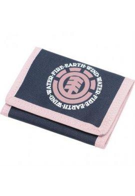 """Cartera ELEMENT """"Elemental"""" pink - dark blue"""