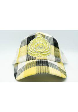 Gorra Karl Kani Trucker amarilla