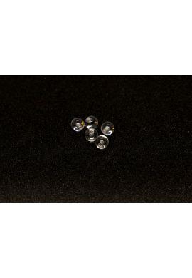 Bolas piercing acrílicas transparentes