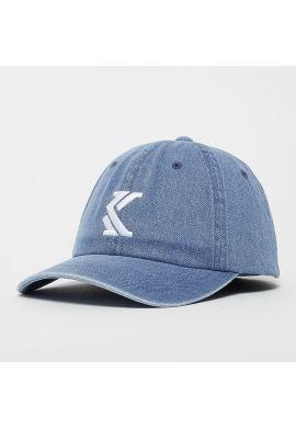"Gorra curva vaquera KARL KANI ""Denim blue"" strapback"