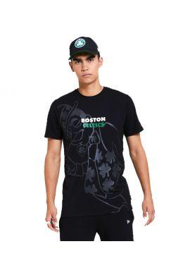 """Camiseta NEW ERA """"Boston Celtics Gradient and Graphic"""" black"""