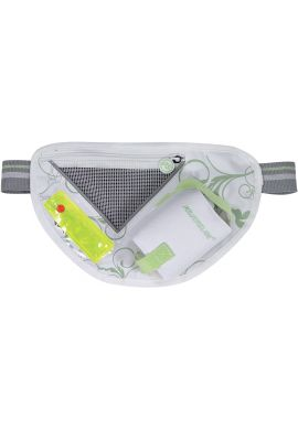 "Riñonera patinaje POWERSLIDE ""Hip Bag Pro"" white yellow"