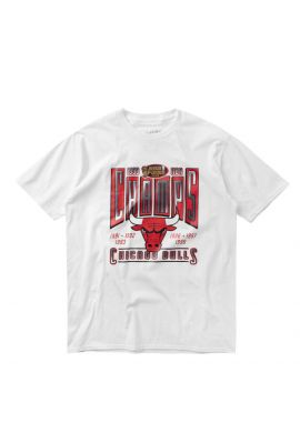 "Camiseta Mitchell & Ness Chicago Bulls"" Last Dance white"
