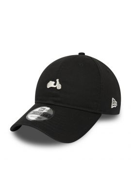 "Gorra curva NEW ERA ""Vespa Pin"" black"