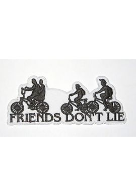 "Parche Ropa ""Friends don´t lie"" Stranger Things"