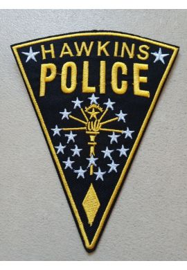 """Parche Ropa """"Hawkins Police"""" Stranger Things"""