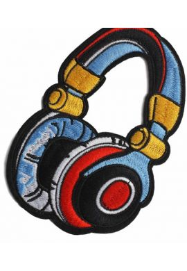 """Parche ropa """"Headphones"""""""