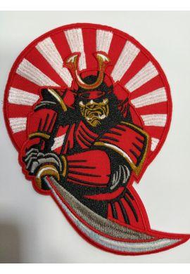"""Parche ropa """"Samurai"""" red"""