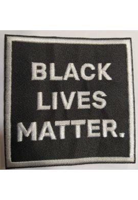 "Parche ropa ""Black Lives Matter"" black"