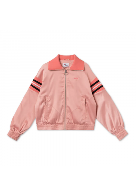 "Trackjacket chica FILA ""Telly"" pink satin"