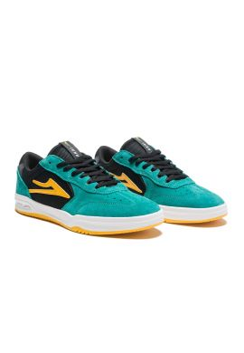 "Zapatillas LAKAI ""Atlantic"" Jade yellow white"