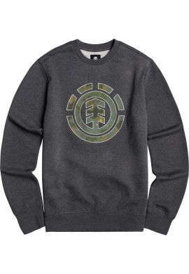 "Sudadera crewneck ELEMENT ""Water Camo Icon Fill"" charcoal logo camo"