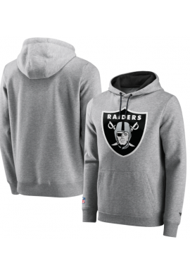 "Sudadera FANATICS ""NFL Las Vegas Raiders Back to Basics"" light grey"