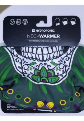 """Braga cuello HYDROPONIC """"Mexican Skull"""" green"""