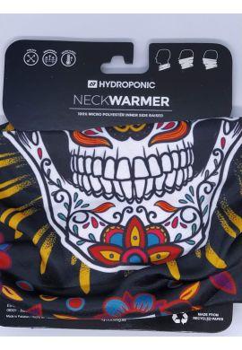 """Braga cuello HYDROPONIC """"Mexican Skull"""" black"""